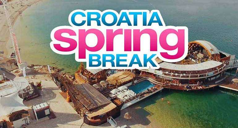 Spring Break Croatia Festival 2018